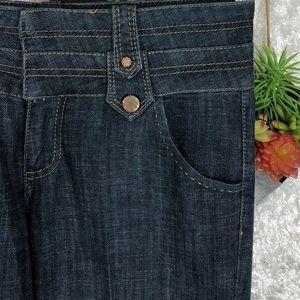 Caché High-Waist Flare Jeans | 10